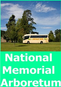 Nat' Mem' Arboretum,Mini Train Tour &Afternoon Tea